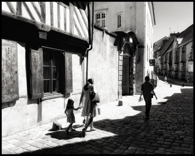 Rennes street scene