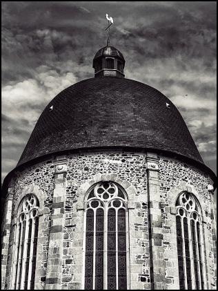 Breton church roof