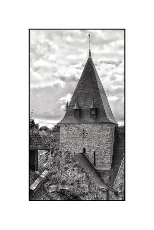 Breton church steeple