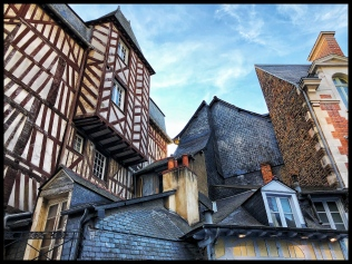 Rennes rooftops