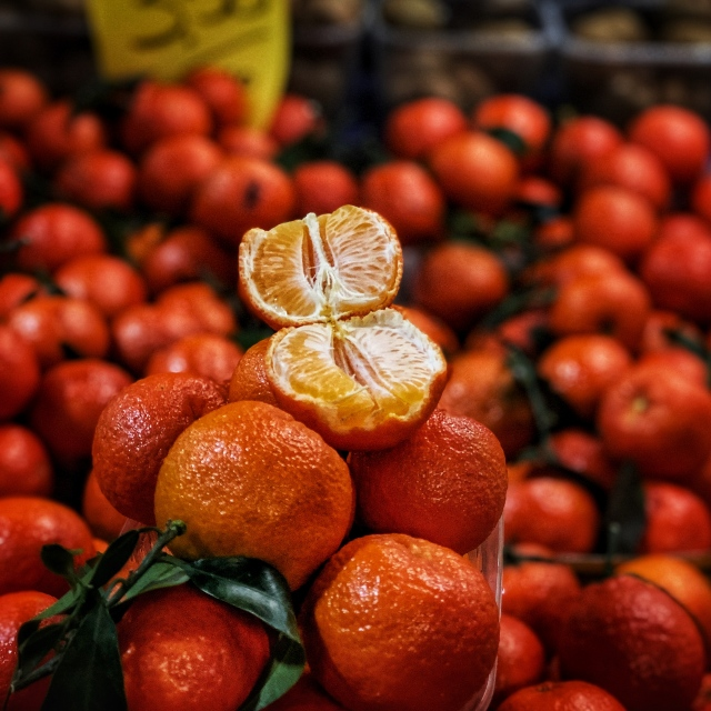 clementines at ventimiglia market