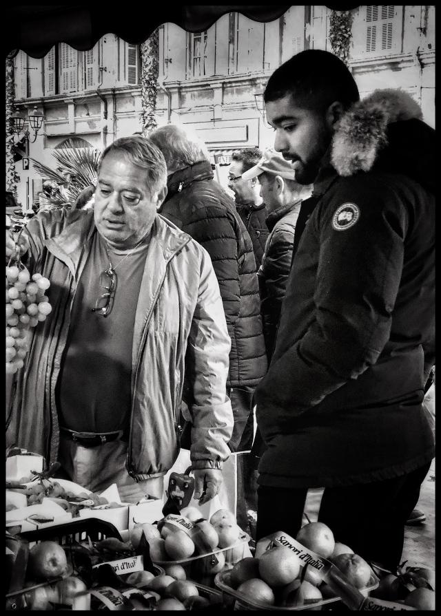market day in ventimiglia