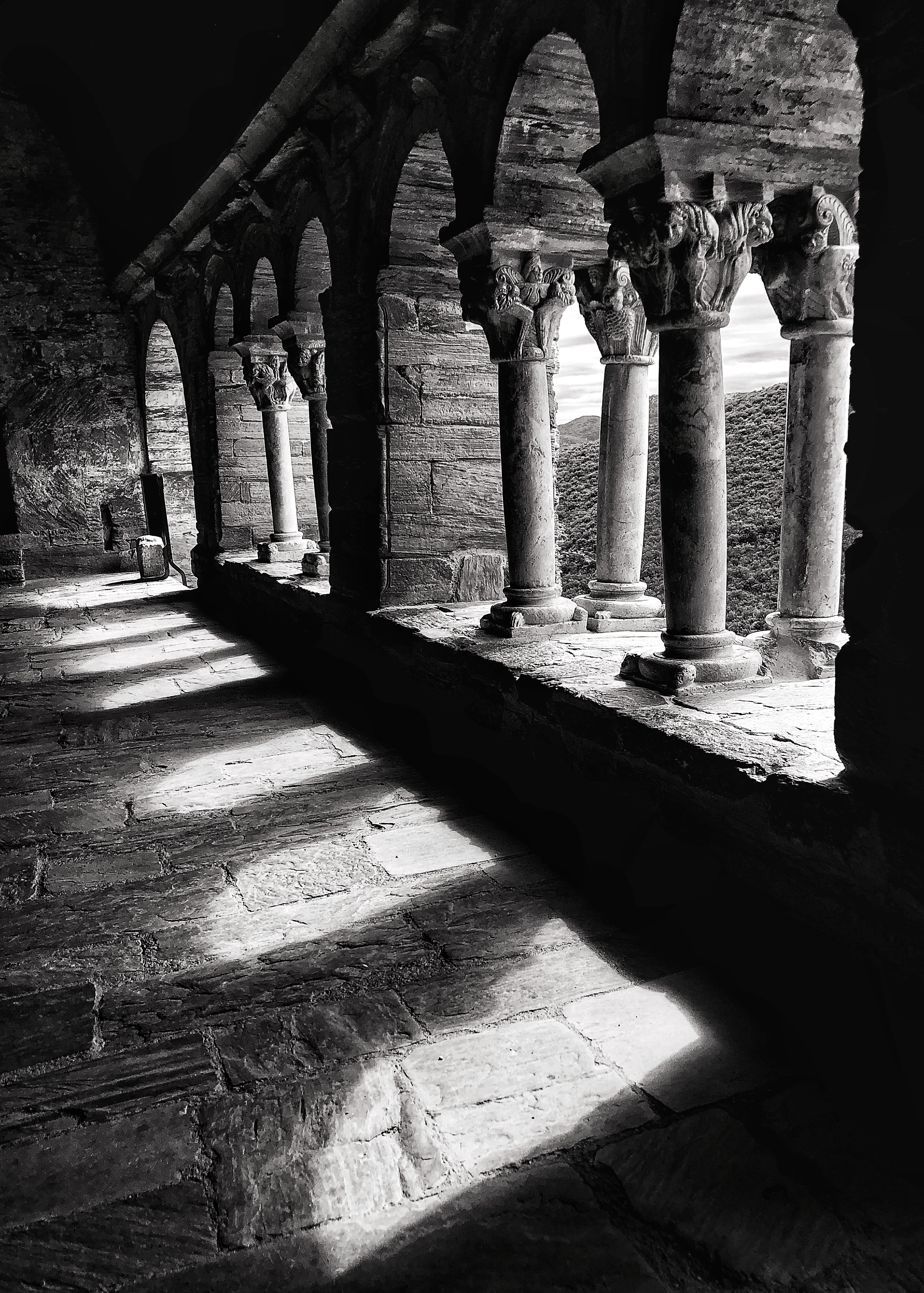 the cloister of Serrabone