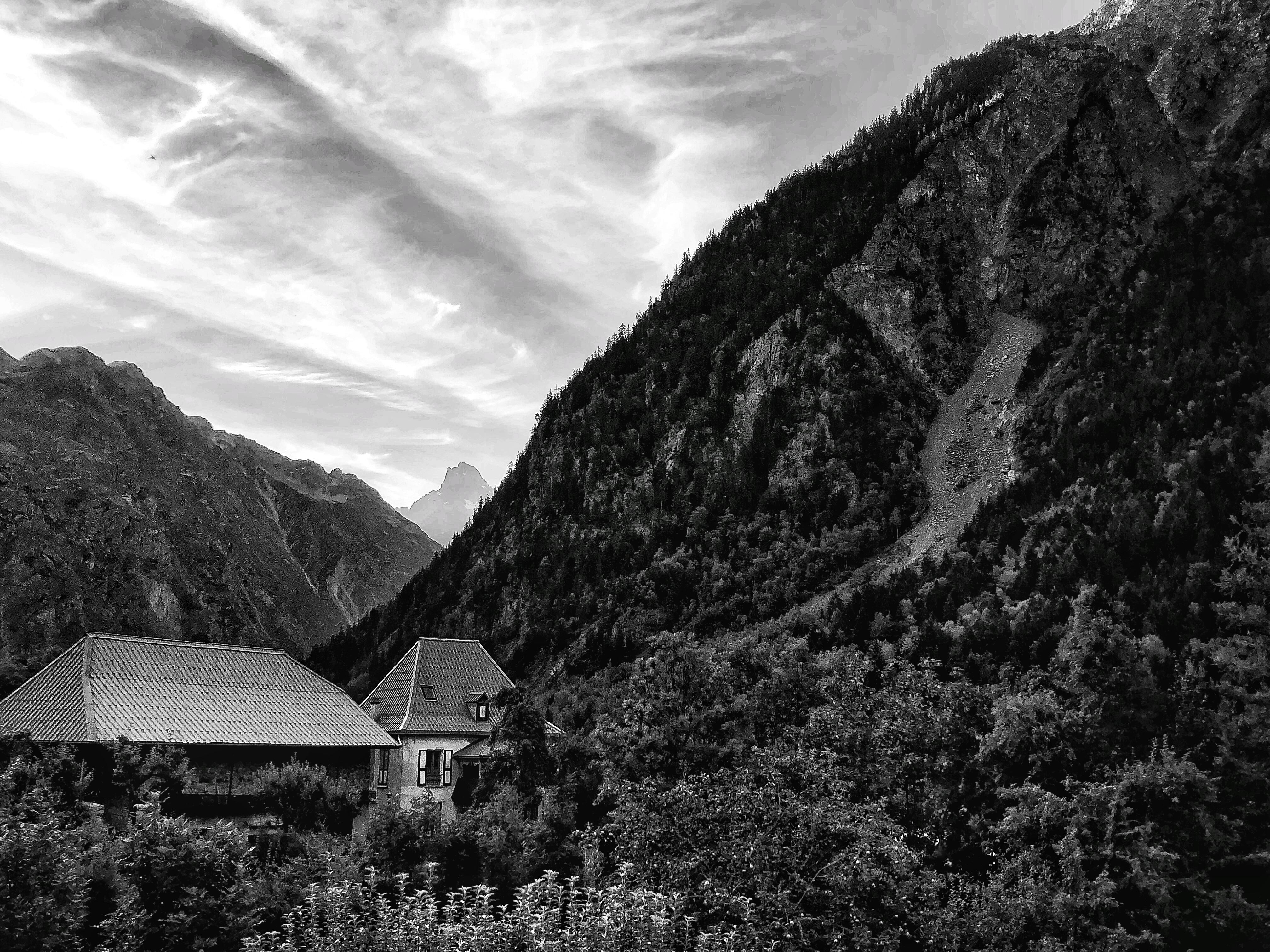 Lauvital Lodge, La Danchere, France, July, 2020